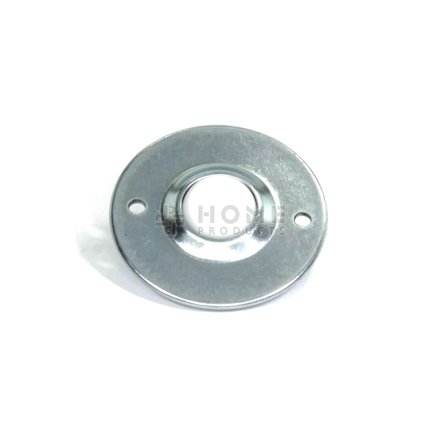 Ball Transfer Unit, 25.4 mm, with mounting holes, flange and Nylon balll
